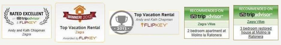 Award winning and recommended by TripAdvisor and Flipkey